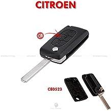 Carcasa de mando a distancia para llave con hoja y 3teclas