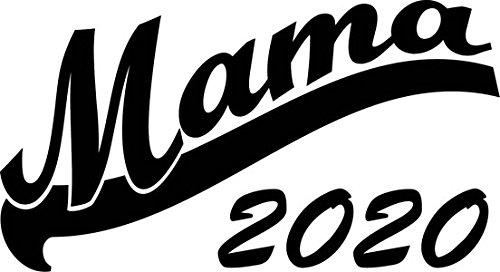 Mister Merchandise Herren Men V-Ausschnitt T-Shirt Mama 2020 Tee Shirt Neck bedruckt Weiß