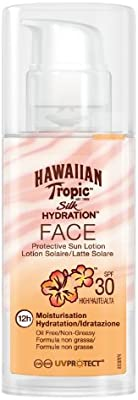 Hawaiian Tropic Silk Hydration Face Sun Loción SPF 30 Moisturisation - 1 unidad