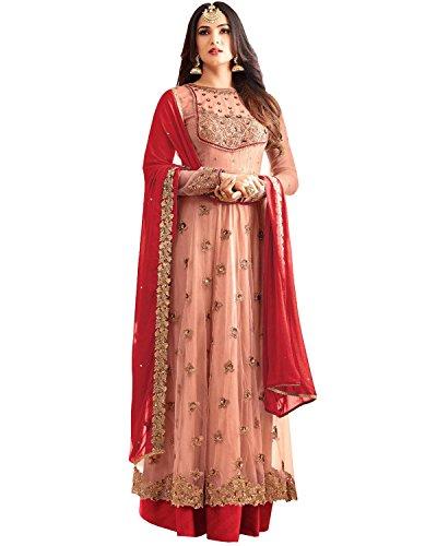 Bhankhariya Women's Georgette Dress Material Salwar Kameez for women Unstitched