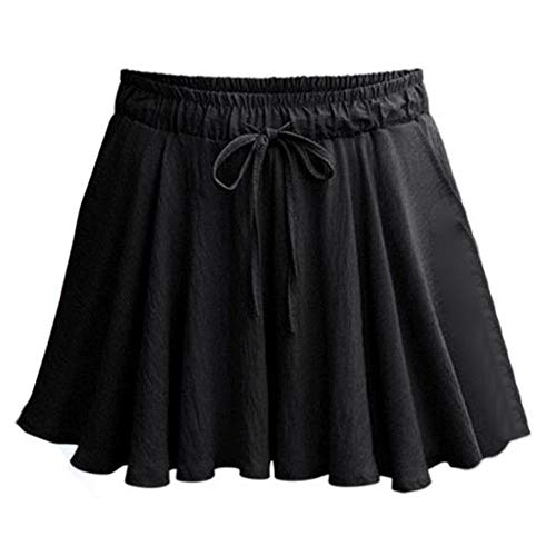 CICIYONER Damen Röcke Sommer Frauen Mode Hosen beiläufige lose Shorts Minirock hohe Taille Hose