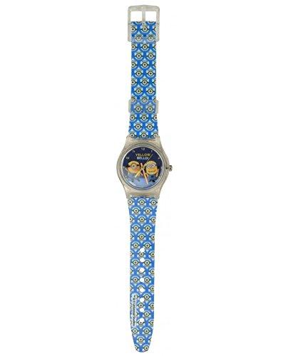 Preisvergleich Produktbild Minions Minion Armbanduhr Kinderuhr Quartz mit Batterie