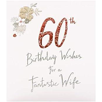 Hallmark Studio Carte Danniversaire 60 Ans Pour Femme Avec
