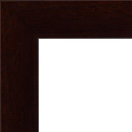 Effect Bilderrahmen Puppis Wenge Bilderrahmen Holz 40x50 Antireflexglas mit Rückwand