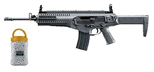 SET: Softair Gewehr Beretta ARX160 Advanced AEG elektrisch unter 0,5 Joule 6mm 7651 + G8DS® PREMIUM BIO BB Softairkugeln weiß 6mm 0,20g 5000 BBs