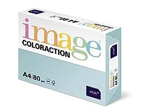 Antalis ColorAction Ramette 500 feuilles papier couleur pour Imprimante jet d'encre/laser/Copieur 80g A4 Lagoon