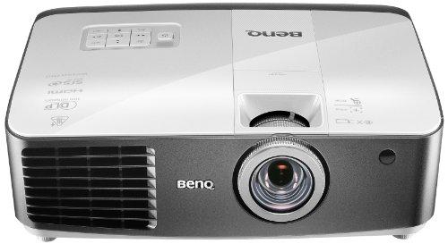 BenQ W1400 3D-DLP-Projektor (New 3D, Full HD 1920 x 1080 Pixel, Kontrast 10.000:1, 2200 ANSI Lumen, HDMI, USB inkl. 3D-Brille) weiß