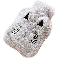 Youyun Wärmflasche mit Katzen-Design, Plüsch, superweich, 26 x 17 cm preisvergleich bei billige-tabletten.eu