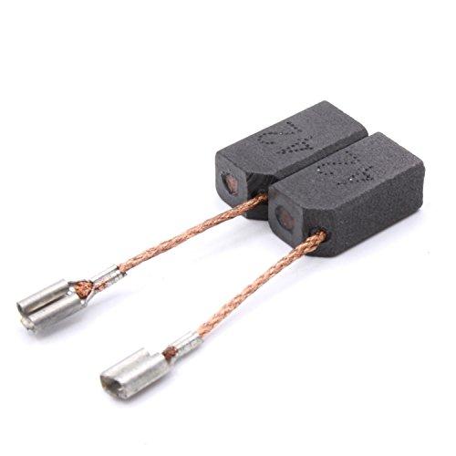 Original Marken Qualität Kohlebürsten Kohlen für Dewalt DW 821 C (Type4) / DW 821 D (Type5) / DW 822 B (Type4) Ersetzt 930151-00 6,3x8x14,5mm