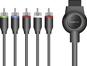 Speedlink Max-3 Component HD Cable - Black (PS3)