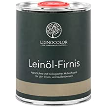 Lignocolor Leinölfirnis 1L Holzöl für den Innen- und Außenbereich