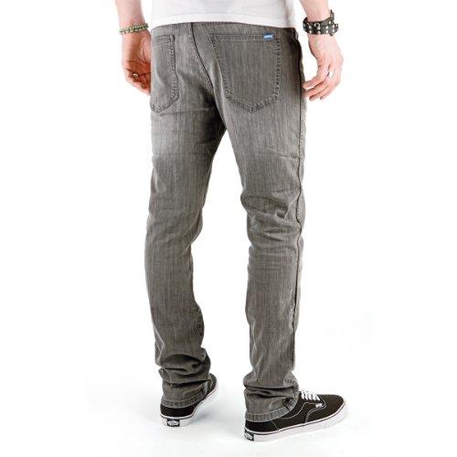 Superslick Tight Pant Slim Jeans Denim Black Grey