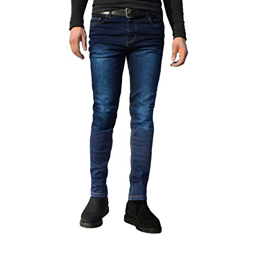 Mens Skinny Slim Fit Stretchable Denim Jeans All Waist Sizes Available