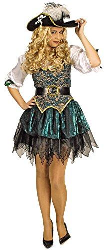 Königin Des Meeres Kostüm - Das Kostümland Piratin Angelica Seeräuberin Kostüm