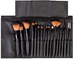 LaRoc 16 Pieces Makeup Brush Cosmetic Set Kit Eyeshadow Foundation Powder Blush Eye