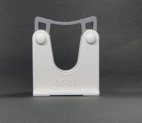 Toolflex Gerätehalter und Stielhalter für Durchmesser 15-20mm Farbe weiss