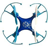 Naks- Dron de Vuelo, Color Azul (DR-747QC/BE)