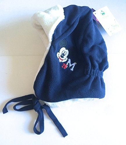 573b97df00a7a Réf8B22 LIC.230 - Bonnet Péruvien Chapka Polaire Mickey Enfant Bleu Marine  Blanc - Licence