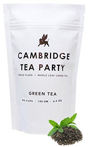 Cambridge Tea Party – Green Tea – Whole Leaf Loose Tea – 180g