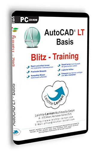AutoCAD LT Grundlagen (Basis 1) Blitz-Training LeichterLernen Multimedia Seminar