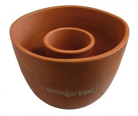 """Räuchergefäß """"Smudge-Bowl"""" gross Keramik natur"""