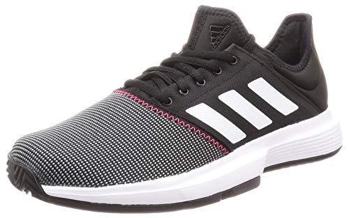 adidas Herren Gamecourt M Tennisschuhe, Mehrfarbig (Multicolor 000), 40 2/3 - Herren Tennis Schuhe Adidas