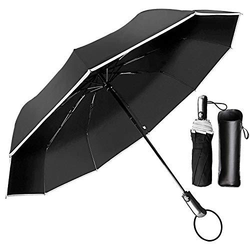 Paraguas Compacto y Resistente al Viento