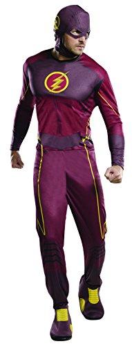 Disfraz de Flash para adulto, talla única (Rubie's 810395)