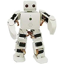 KKmoon ViVi Robot umanoide Plen2 per Arduino Stampante 3D 18 DOF Robot giocattolo intelligente Modello Humanoid Toy Science Kit per bambini Kit robot educativo