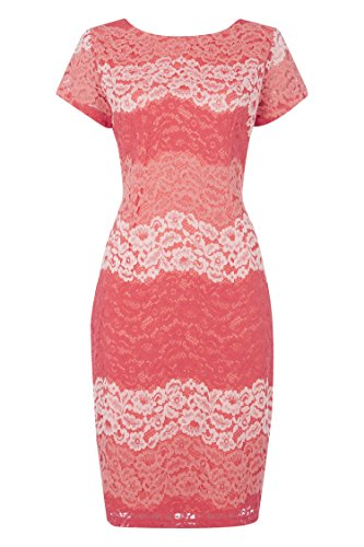 Roman Originals Women's Tonal Lace Dress