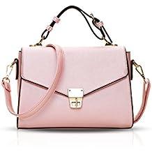 abd7032f0aac3 NICOLE DORIS Elegant Freizeit Schön Damen Handtaschen Umhängetasche  Damenhandtaschen Henkeltaschen Schultertaschen Klein Tasche Shopper  Wasserdicht PU