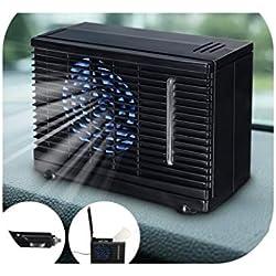 Mini climatiseur de Voiture Portable 12/24 V pour la Maison, Refroidissement de Voiture, Ventilateur, Eau, Glace, climatisation Adiabatique, Noir, Russische Federatie
