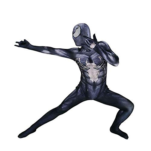 Mens Kostüm Superheld - Hcxbb-b Spiderman Phantasie, Erwachsene/Kinder Halloween Make-up Party Cosplay Kostüm Siam Strumpfhosen Party Film Superheld Camouflage (Farbe : Men, Size : Medium)