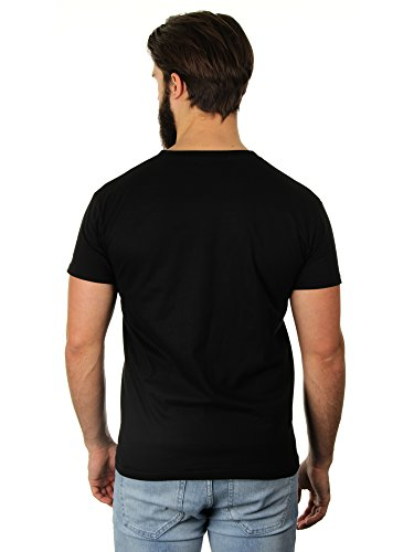 There's A Party In My Pants - Herren T-Shirt von Kater Likoli Deep Black