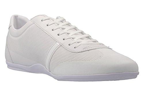 Lacoste Herren Mokara 116 1 Cam Wht Bässe, Weiß Weiß