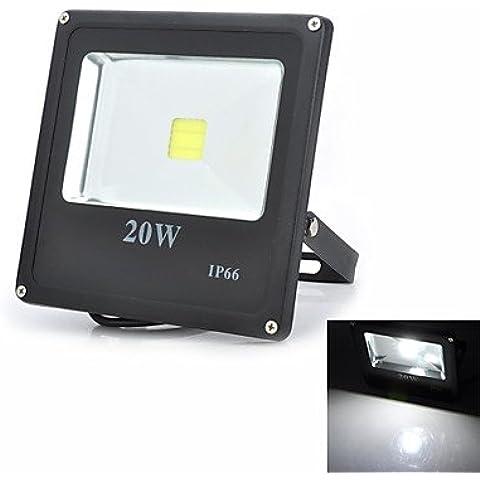 20w piazza esterna impermeabile 1800 lm 6500K LED bianco luce di inondazione lampada di proiezione (85-265V)