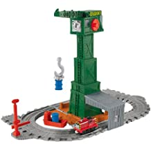Thomas and Friends - Cranky, circuito portátil grúa (Mattel R9112)
