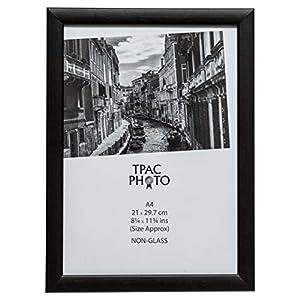 TPAC PAWFA4B-BLK Holz-Bilderrahmen Certiciate, DIN A4, 21 x 29.7 cm, schwarz