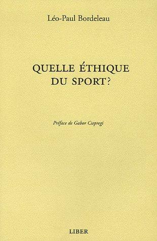 Quelle éthique du sport ?