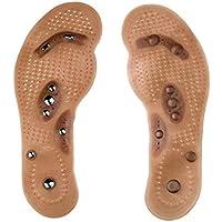 Healifty Frauen-magnetische Fuß-Einlegesohlen Akupressur-Schuh-Auflagen zusammenpassende Größe L (41-45) preisvergleich bei billige-tabletten.eu