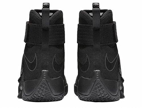Nike 844374-001, Scarpe da Basket Uomo Nero