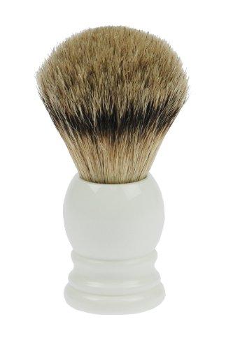 Fantasia - 84047 - Blaireau - Blaireau véritable - Blanc - Hauteur: 10cm