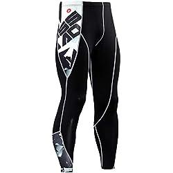 Pantalones de Running Leggings de Hombre Pantalones Deportivos de Secado Rápido, Pantalones Apretados de Compresión - Leggings de Compresión, Hombres Para Entrenamiento de Yoga Fitness Gym Running