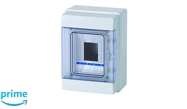 Fuse Box Small Wall-Mounted Distribution Board IP40/Sub-distribution 1/Row 4/Modules