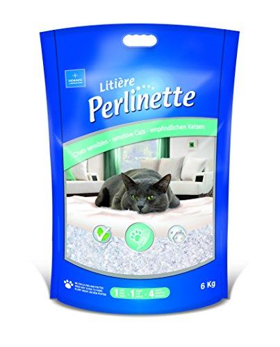 Litière Perlinette Micro-Granules Sac de 6 kg chats, chatons et NAC/DEMAVIC