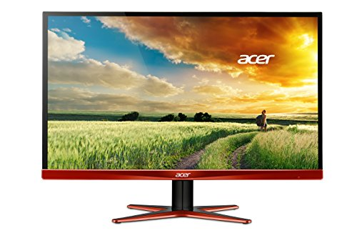 Foto Acer XG270 Predator Huomidpx Monitor gaming, Display 27 Pollici LED, Risoluzione 2560x1440, Contrasto 100M:1, Luminosità 350 cd/m2, Tempo di Risposta 1 ms, Arancio/Nero