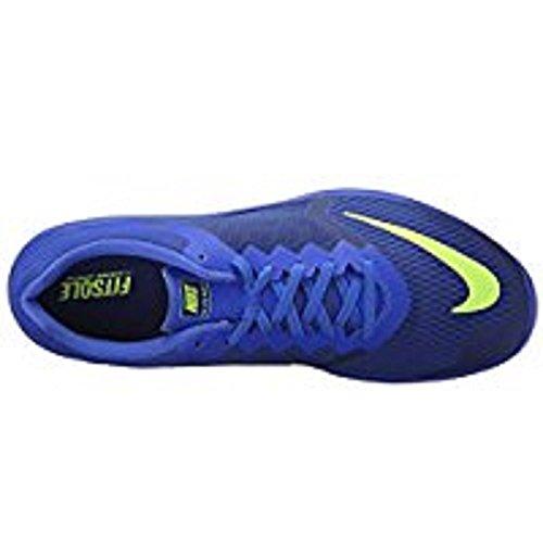 Nike Fs Lite Run 3, Scarpe da Corsa Uomo Azul (Azul (deep royal blue/volt-racer blue-white))