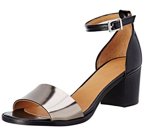 Emma GoLuna - Laccetto alla caviglia Donna , multicolore (Multicolore (Metal Alu/Cordoban Black)), 38 EU