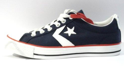 Chaussures Star Player basse en canvas – blu41