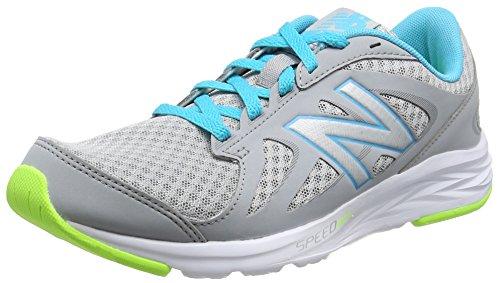 New Balance 490v4, Zapatillas Deportivas para Interior para Mujer, Multicolor (Grey), 39 EU
